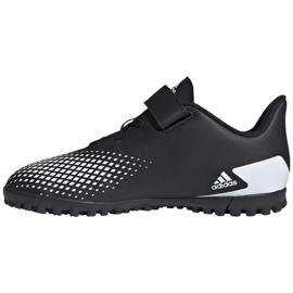 Adidas Predator 20.4 H&L Tf Jr FW9225 football boots black 2