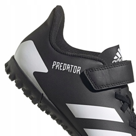 Adidas Predator 20.4 H&L Tf Jr FW9225 football boots black 3