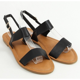 Black women's sandals FF-505 Black 1