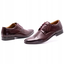 Olivier Burgundy formal shoes 482 red multicolored 6