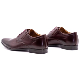 Olivier Burgundy formal shoes 482 red multicolored 7