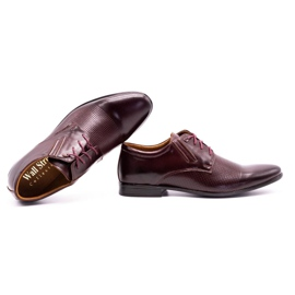 Olivier Burgundy formal shoes 482 red multicolored 8