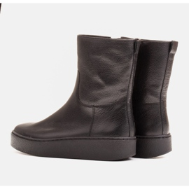 Marco Shoes Comfortable Marco boots with a flat bottom black 4