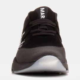 Marco Shoes Sports sneakers made of high-quality natural suede black 2