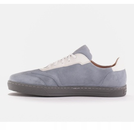 Marco Shoes Sports sneakers made of high-quality natural suede grey 2