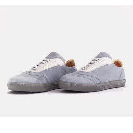 Marco Shoes Sports sneakers made of high-quality natural suede grey 4