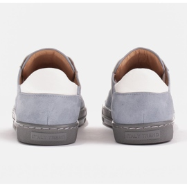 Marco Shoes Sports sneakers made of high-quality natural suede grey 6