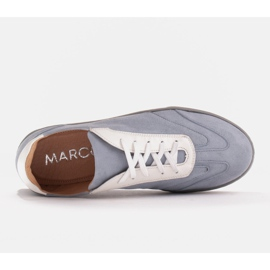 Marco Shoes Sports sneakers made of high-quality natural suede grey 5