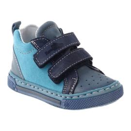 Boys' shoes - baby shoes Ren But 1429 blue multicolored 1
