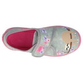 Befado children's shoes 560X171 pink grey 3