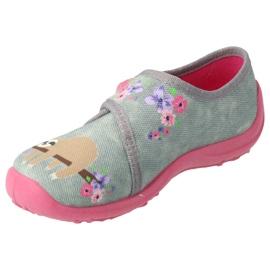Befado children's shoes 560X171 pink grey 2