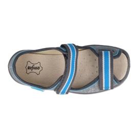 Befado children's shoes 869X157 blue grey 1