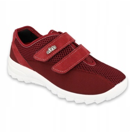 Befado women's shoes 517D015 red 1