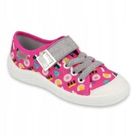 Befado children's shoes 251X181 pink grey 1