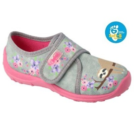 Befado children's shoes 560X171 pink grey 1