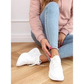 White PC01 White socks sports shoes 2