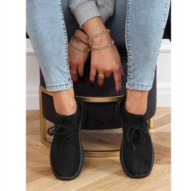 Black PC01 All Black socks sports shoes 2