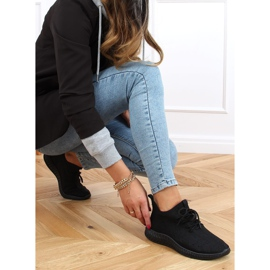 Black PC01 All Black socks sports shoes 3