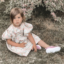 Apawwa Children's sports shoes dark pink Little Sportsman 9