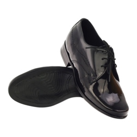 Black lacquered children's shoes Gregors 429 3