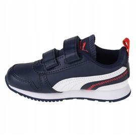 Puma R78 Sl V Infants 374430 03 black navy blue 1