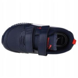 Puma R78 Sl V Infants 374430 03 black navy blue 2