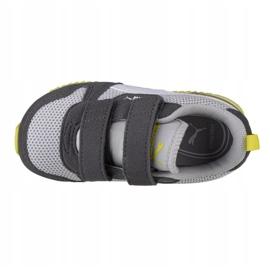Puma R78 V Infants 373618 16 shoes red 2