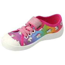 Befado children's shoes 251X178 Unicorn blue orange pink silver green 2