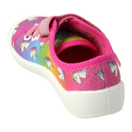 Befado children's shoes 251X178 Unicorn blue orange pink silver green 1