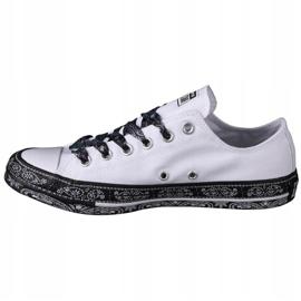 Converse X Miley Cyrus Chuck Taylor All Star M 162235C white black 1