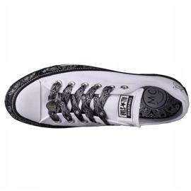 Converse X Miley Cyrus Chuck Taylor All Star M 162235C white black 2