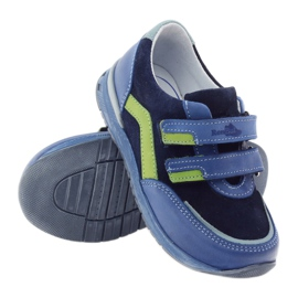 Boys' shoes, turnips Ren But 3261 gr multicolored green blue 3