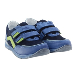 Boys' shoes, turnips Ren But 3261 gr multicolored green blue 4