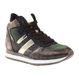 McArthur Sports shoes copper multicolored golden 1