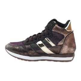 McArthur Sports shoes copper multicolored golden 2