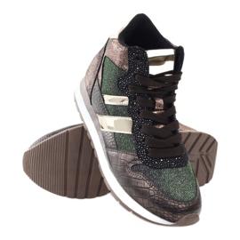 McArthur Sports shoes copper multicolored golden 3