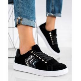 SHELOVET Suede Sneakers black 2