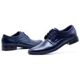 Lukas Men's formal shoes 447 navy blue 13