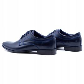 Lukas Men's formal shoes 447 navy blue 1