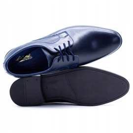 Lukas Men's formal shoes 447 navy blue 5