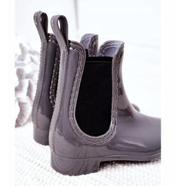 Children's Galoshes Jodhpur boots Gray Lily grey 1