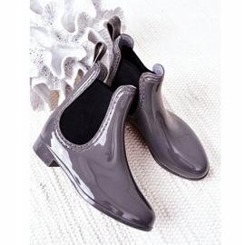 Children's Galoshes Jodhpur boots Gray Lily grey 4