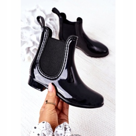 Children's Galoshes Black Jodhpur boots Lily 3