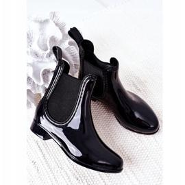 Children's Galoshes Black Jodhpur boots Lily 4