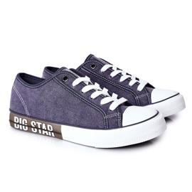 Men's Big Star HH174047 Navy blue sneakers 5