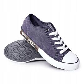 Men's Big Star HH174047 Navy blue sneakers 1