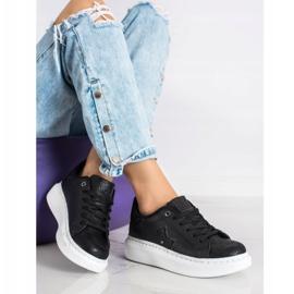 SHELOVET Stylish Sneakers On The Platform black 1
