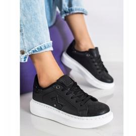 SHELOVET Stylish Sneakers On The Platform black 3