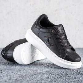 SHELOVET Stylish Sneakers On The Platform black 2