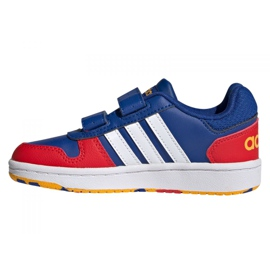 Adidas Hoops 2.0 C Jr FY9443 shoes black blue 1